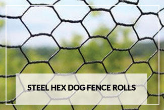 Steel Hex Dog Fence Rolls