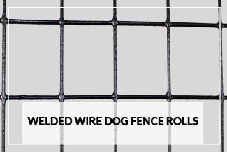 Welded Wire Dog Fence Rolls