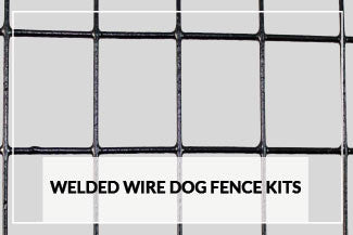 Welded Wire Dog Fence Kits