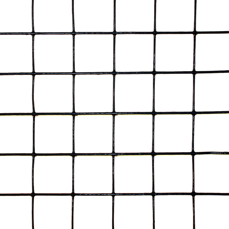 "4' x 100' Welded Wire-19 ga. galvanized steel core; 17 ga after PVC-Coating, 1"" x 1"" Mesh"