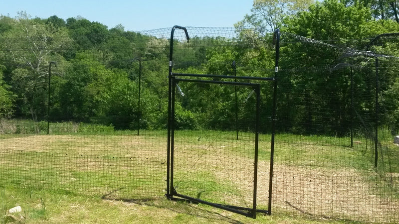 6'W Access Gate For 6' Kitty Corral