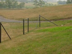6' Chicken Fence Heavy End-2 Pack