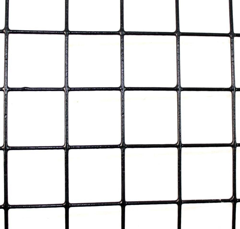 "4' X 100' WELDED WIRE-14 GA. GALVANIZED STEEL CORE; 12 GA AFTER PVC-COATING, 2"" X 2"" MESH"