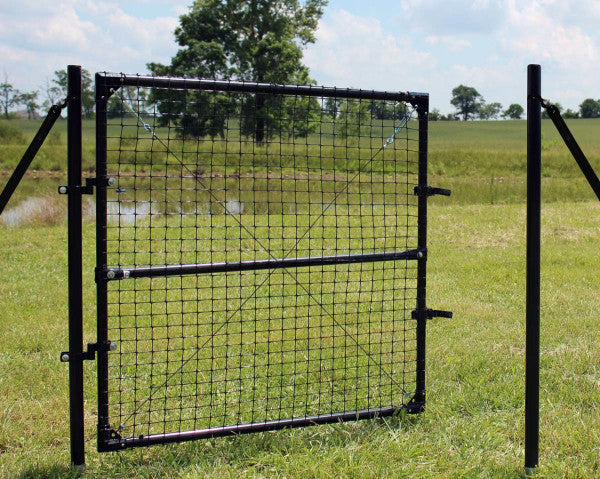 4.5'H x 6'W Dog Fence Access Gate