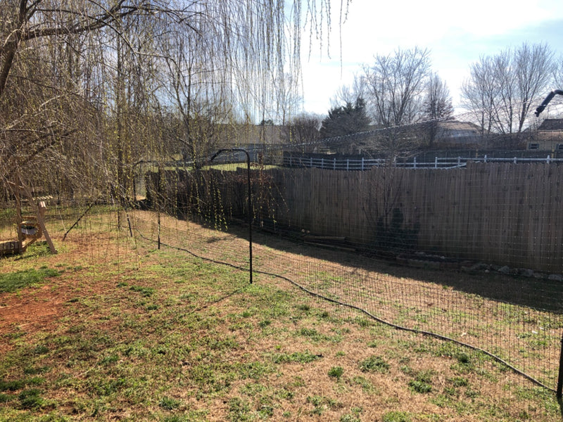 6' x 200' Kitty Corral Cat Fence System