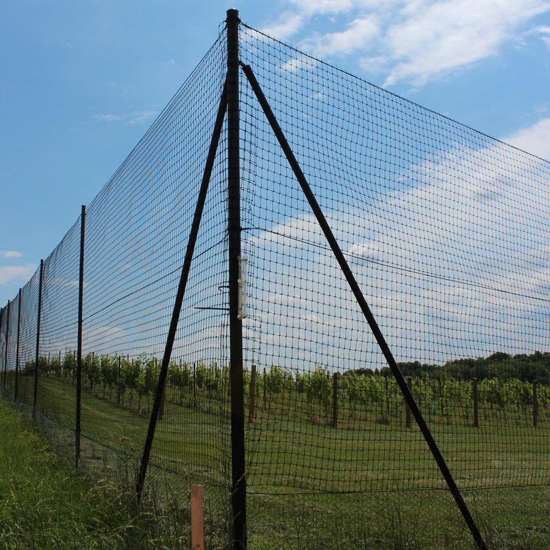 6' H Chicken Fence Heavy Corner-2 Pack