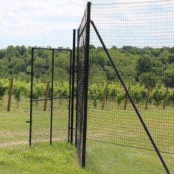 6' H Dog Fence Heavy End-2 Pack