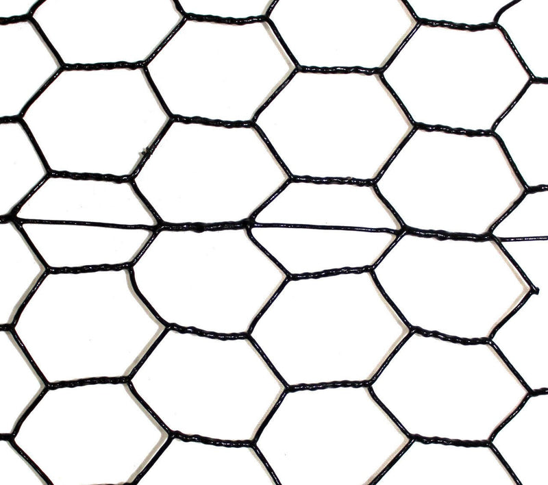 7.5' x 100' Steel Hex Web PVC Chicken Fence