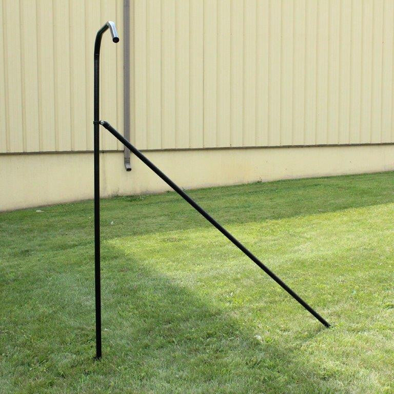 End System Kit For 6' Cat Fence - 2pk