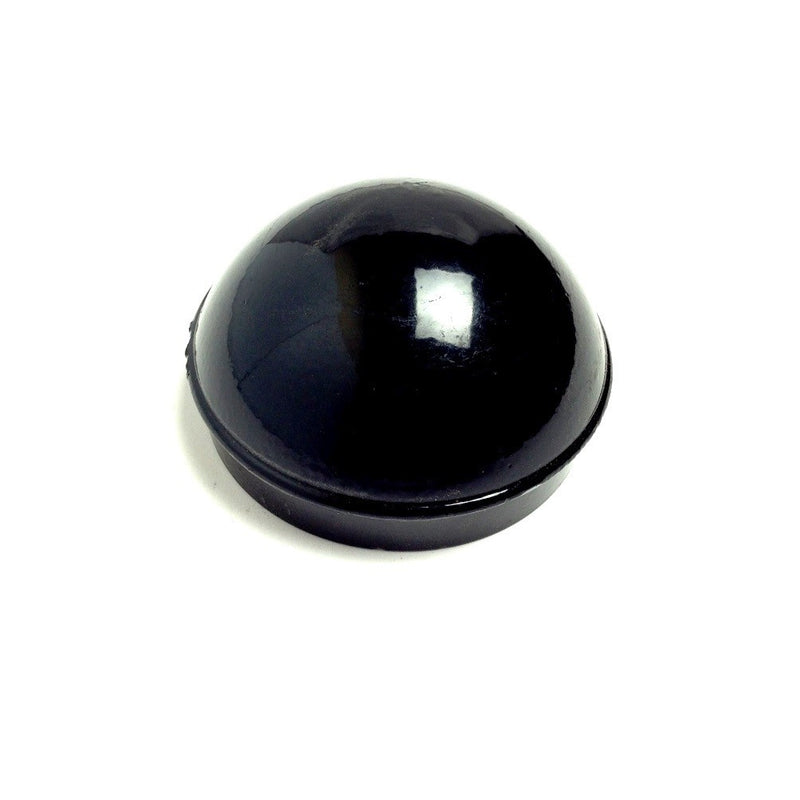 "Dome Cap- Decorative For 2.5"" Post - Black"