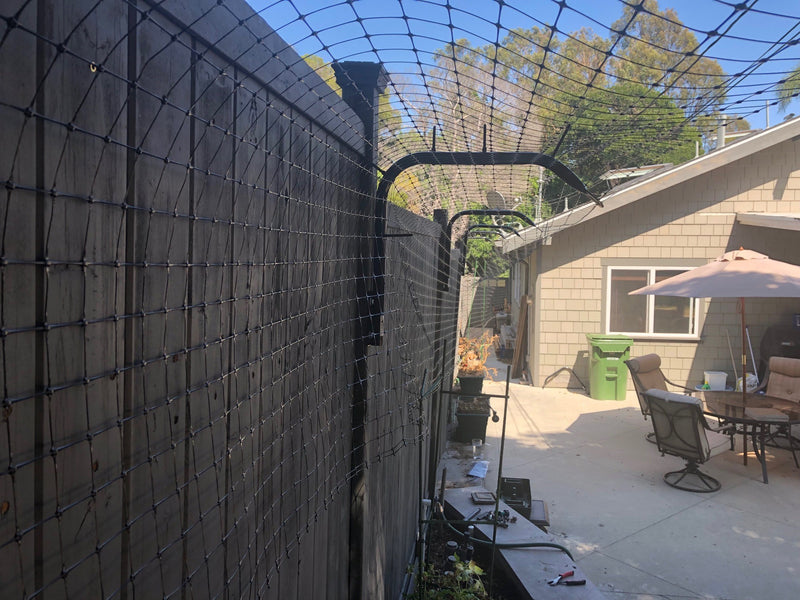 100' Cat Fence Conversion Kit (1' Extension)