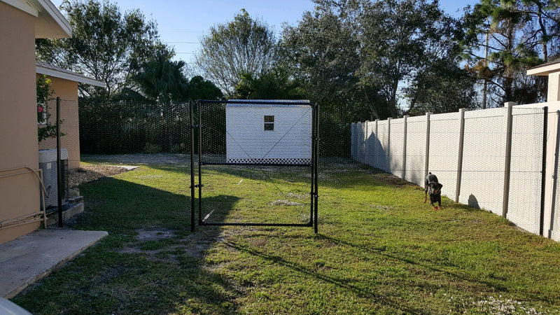 4' x 150' Steel Hex Dog Fence Kit