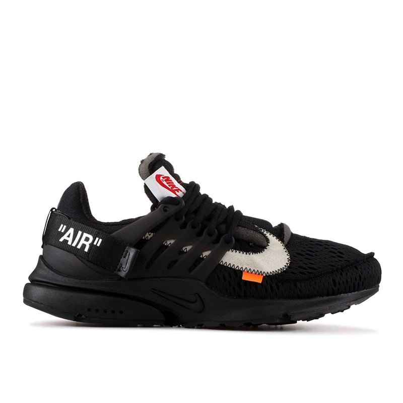 183888c3692 The Ten  Off-White Nike Air Presto Black - Sole By Style