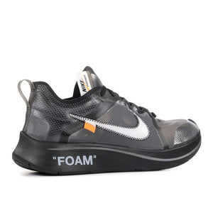 Off-White/Nike Zoom Fly Black Silver