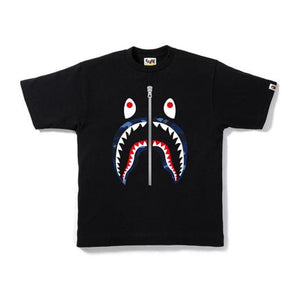 BAPE Color Camo Shark Tee Black/Navy