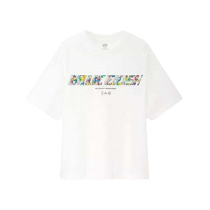 Billie Eilish Flower Logo Tee White (US Womens Sizing)
