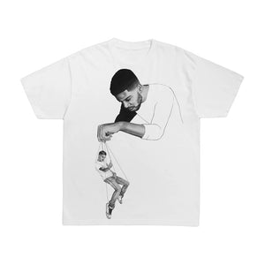 Kid Cudi C/O Virgil Abloh Pulling Strings T-Shirt White