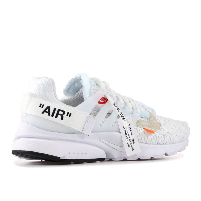 best website 0d299 ac311 The Ten  Off-White Nike Air Presto White - Sole By Style
