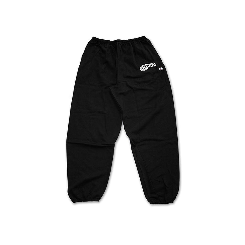 Sole By Style Abstract Sole Logo Sweatpants Black