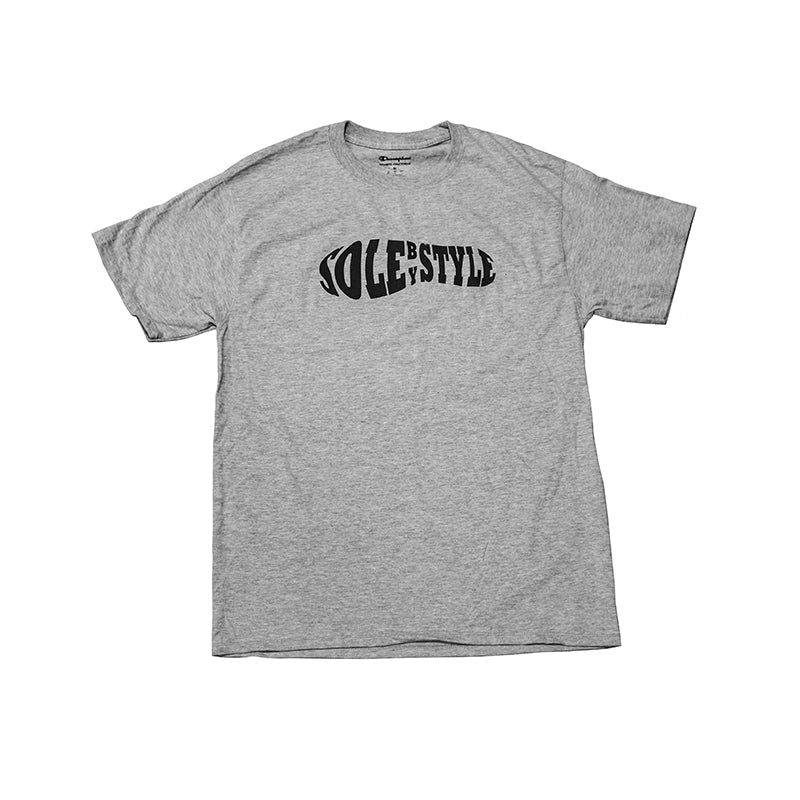 Sole By Style Abstract Sole Logo Tee Grey