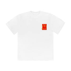 Travis Scott x McDonald's Action Figure Series T-Shirt White