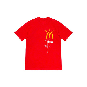 Travis Scott x McDonald's Crew T-Shirt Red