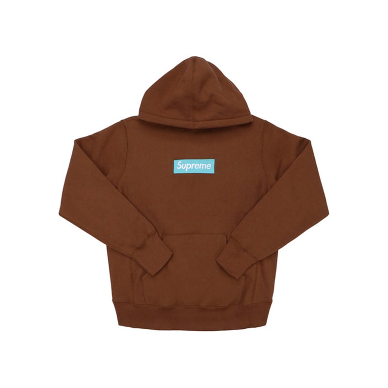 Supreme Box Logo Hooded Sweatshirt Rust (FW17)