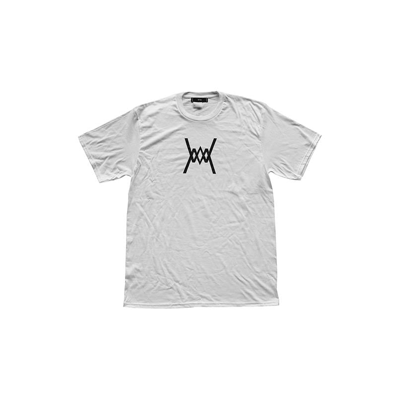 Run The Midwest Logo Tee White