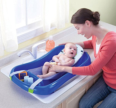 Newborn To Toddler Bath Tub - Blue