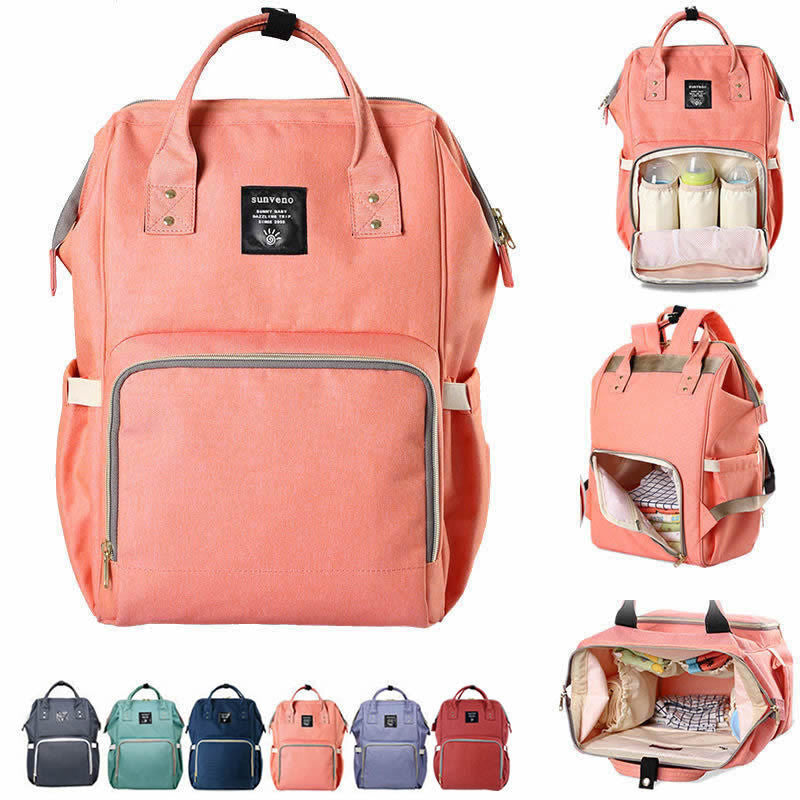 Designer Diaper Nappy Bag Nursing Backpack