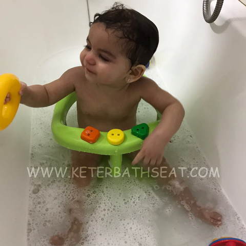 Keter Baby Bathtub Seat Green – Keter Bath Seats