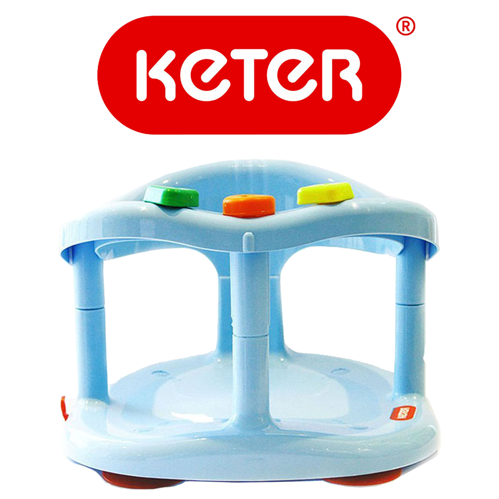 Keter Baby Bathtub Seat Light Blue – Keter Bath Seats