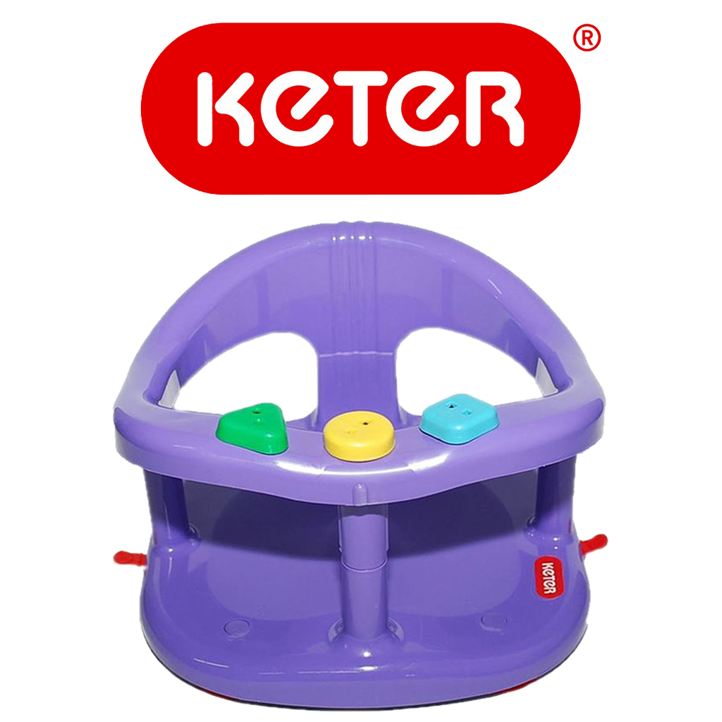 Keter Baby Bathtub Seat Purple – Keter Bath Seats