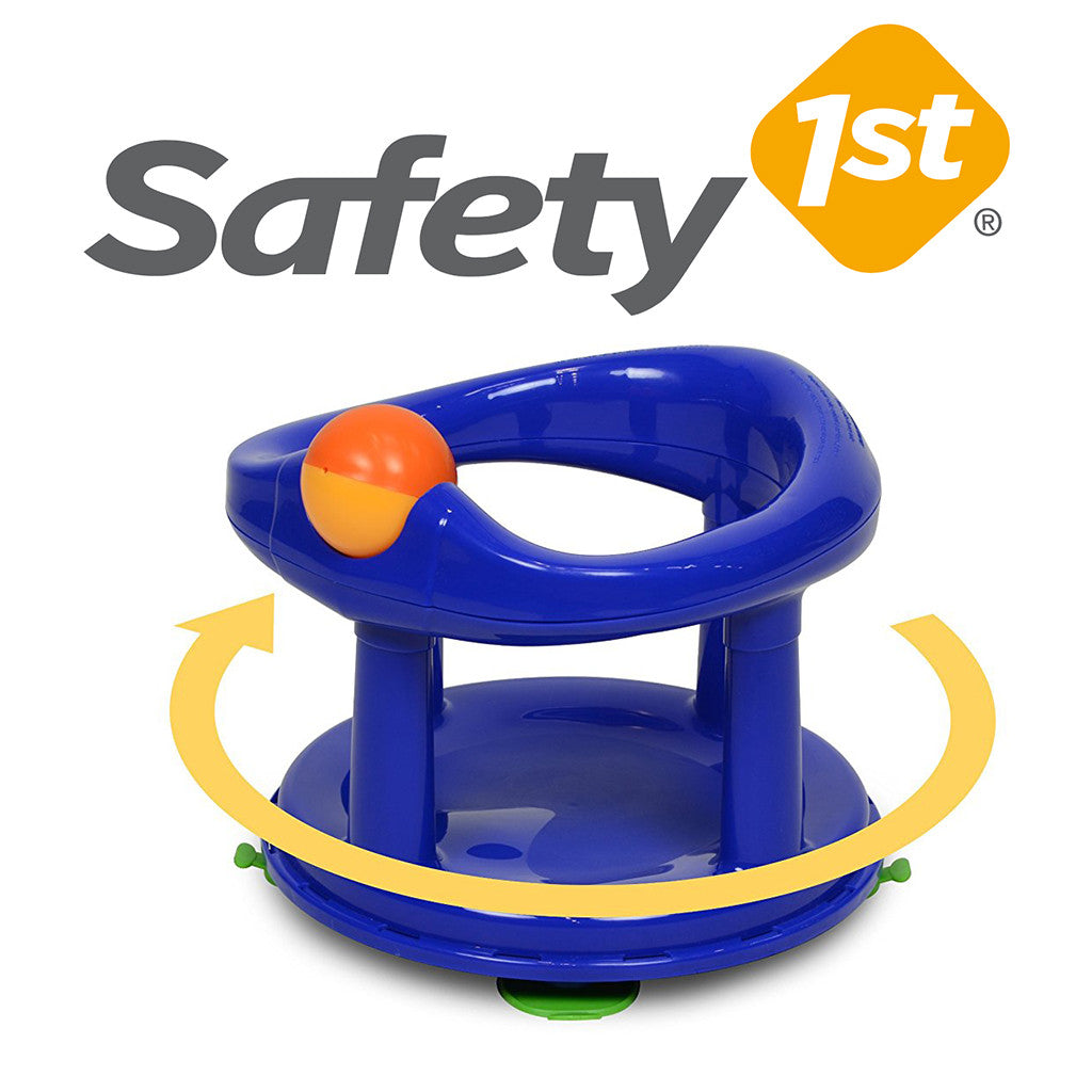 Safety 1st Swivel Baby Bathtub Seat Dark Blue – Keter Bath Seats