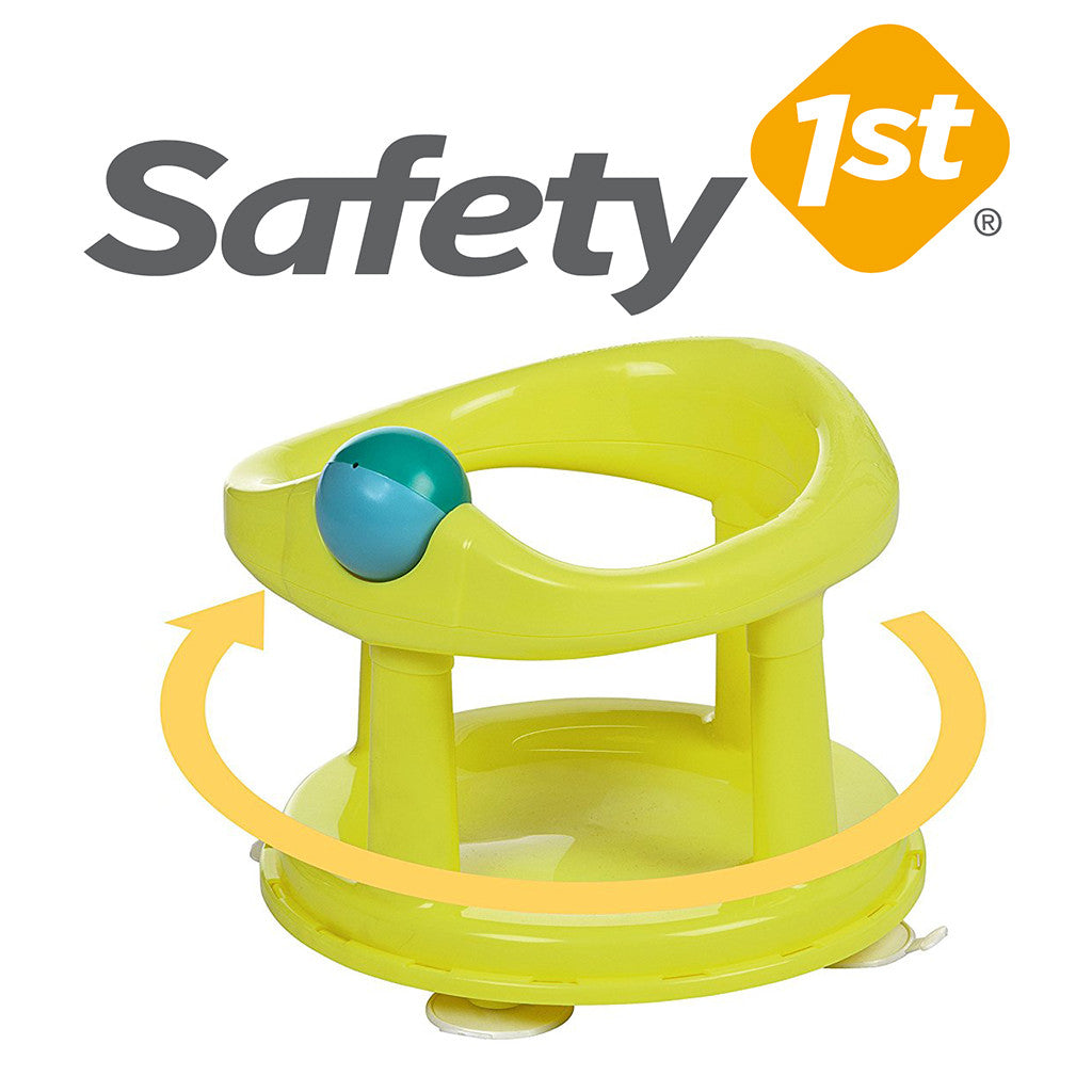 Safety 1st Swivel Baby Bathtub Seat Lime Green – Keter Bath Seats