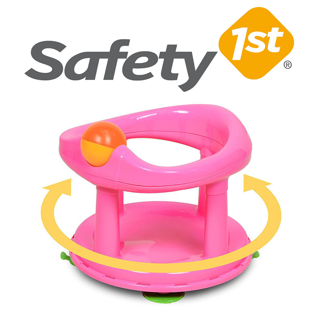 Safety 1st Swivel Baby Bathtub Seat Pink – Keter Bath Seats