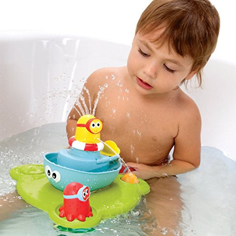 Stack N' Spray Bathtub Fountain toy