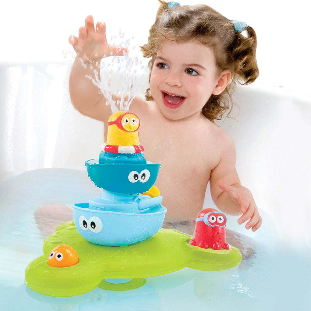 Bath Toy - Stack N' Spray Bathtub Fountain