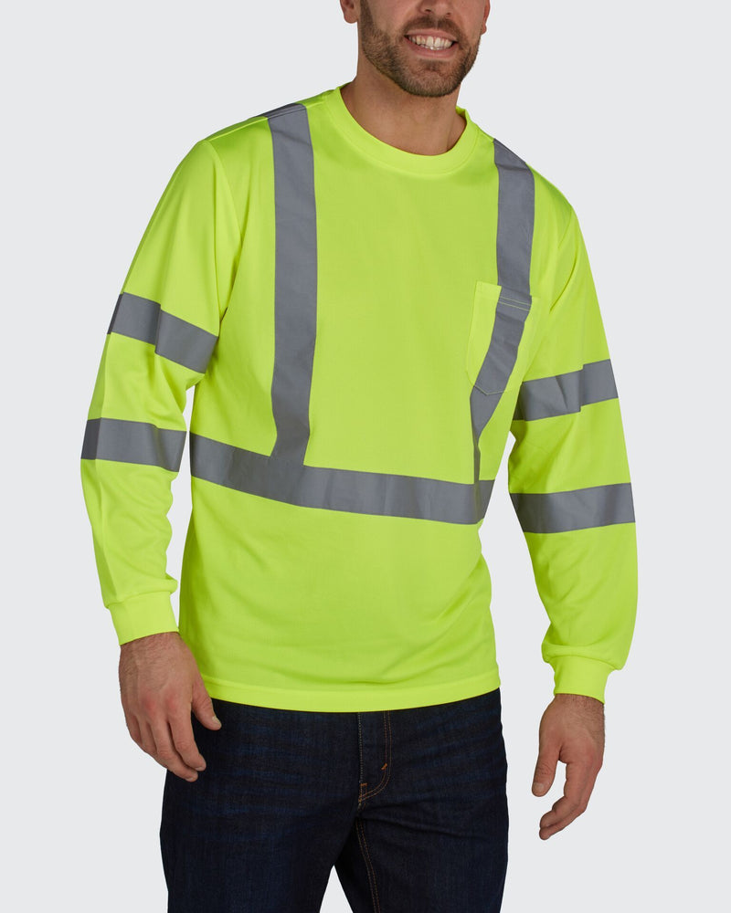 UHV867 Long Sleeve ANSI 3 tee  - Protected with PERIMETER Insect Guard - Utility Pro Wear