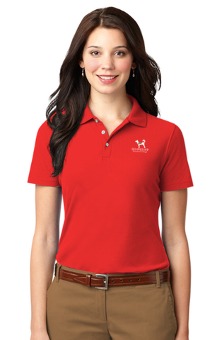 Semper K9 Women's Luxury Hybrid Jersey Polo