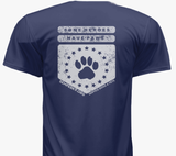 Some Heroes Have Paws T-Shirt Race Shirt