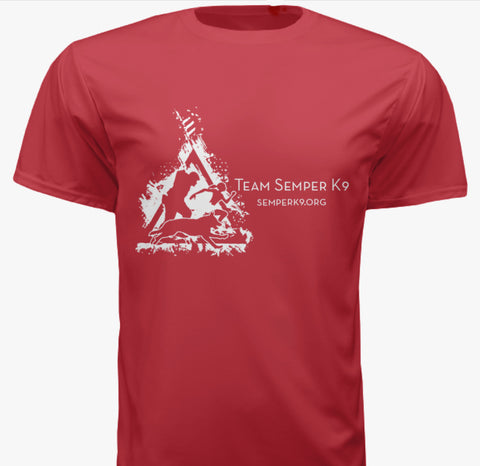 Team Semper K9 Race Day Shirt