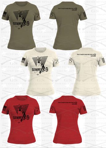 PRE ORDER Grunt Style Limited Edition Ladies Semper K9 Shirt