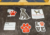 Dog Life Sticker Collection