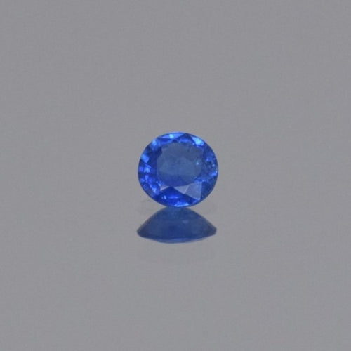 0.32ct Round Blue Cobalt Spinel 4.4x2.1mm
