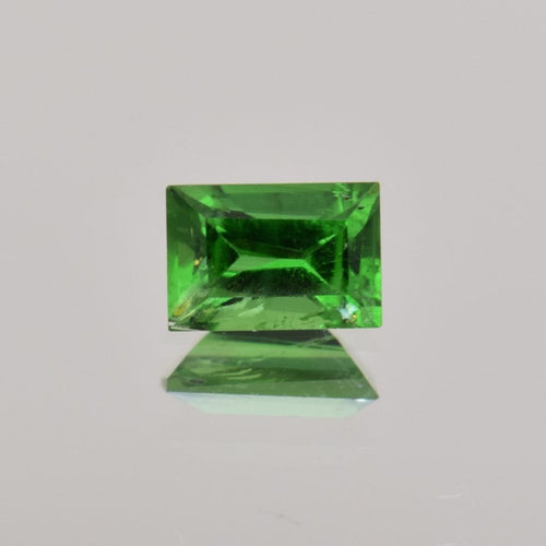 0.44ct Emerald Cut Green Tourmaline