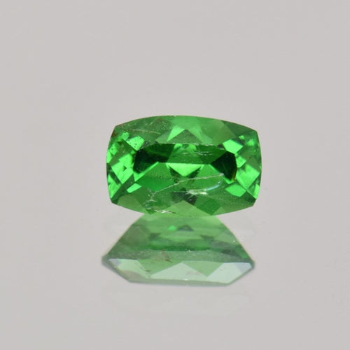 0.52ct Cushion Green Tsavorite