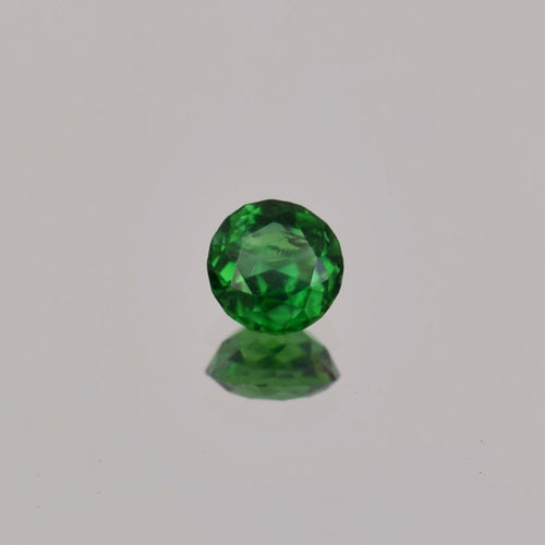 0.57ct Round Green Tsavorite