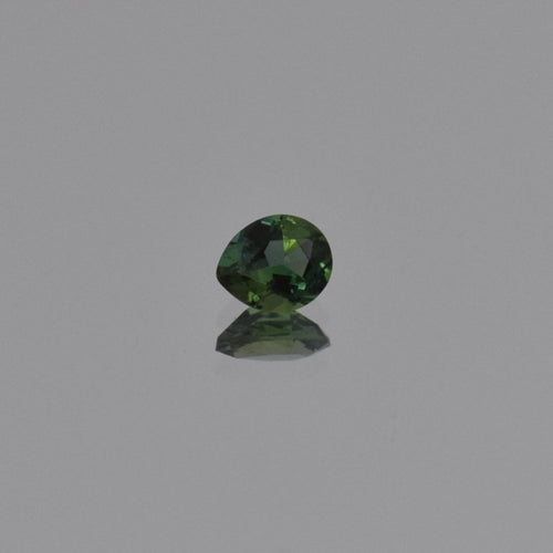0.63ct Pear Shape Green Tanzanite