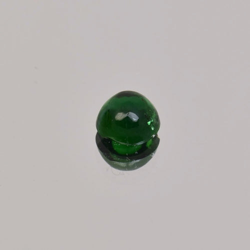 0.68ct Oval Green Tsavorite Cabochon 6.4x5mm